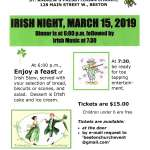 IRISH NIGHT 2019