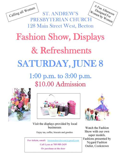 Fashion Show and Displays